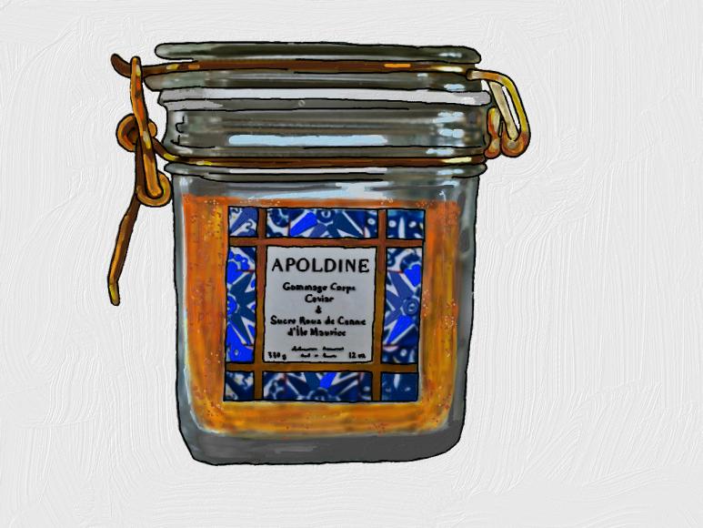 Gommage Au Caviar Et Au Sucre Roux Et Zeste De Raisin