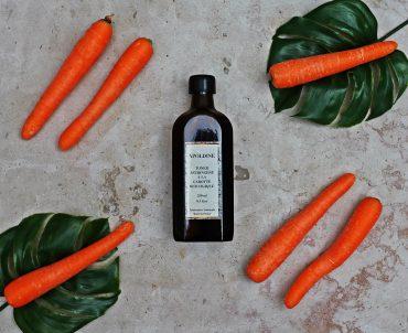 Lotion tonique à la carotte biologique