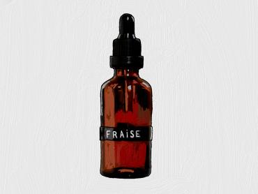 Sérum Visage Riche En Vitamines À La Fraise Biologique
